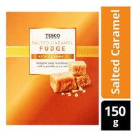 Tesco Fudge - Salted Caramel