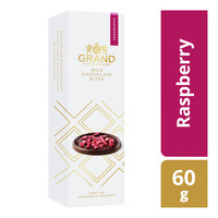 Grand Belgian Specialties Milk Chocolate Bites - Raspberry