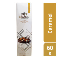 Grand Belgian Specialties Milk Chocolate Bites - Caramel