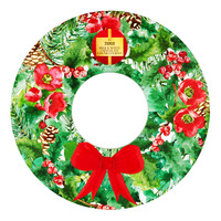 Tesco Wreath Cookies Tin - Milk & White Chocolate Chunk