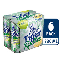 Tiger Radler Can Beer - Pomelo