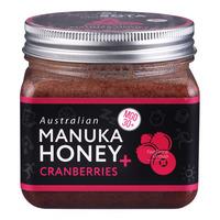 Biosota Australian Manuka Honey - Cranberries