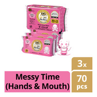 LEC Baby Wipes - Messy Time (Hands & Mouth)