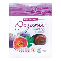 Nature's Best Organic Dried Fruits - Figs (No Added Sugar)