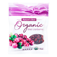 Nature's Best Organic Dried Fruits - Cranberries