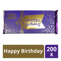 Cadbury Chocolate Block - Happy Birthday