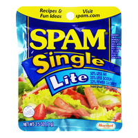 Hormel Spam Single Luncheon Meat - Lite