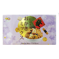Beans' Family Mixed Rice Crackers - Purple