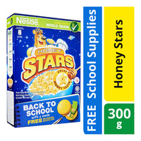 Nestle Cereal - Honey Stars + Free Back To School Supplies