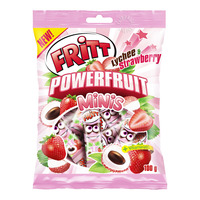 Fritt Powerful Minis Candy - Lychee & Strawberry