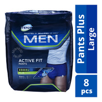 TENA Pants Plus Men Active Fit Adult Diapers - L