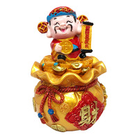 Imported CNY Decoration - God of Fortune (14cm)