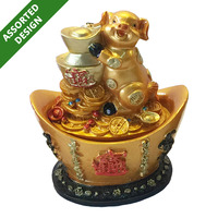 Imported CNY Decoration - Auspicious Pig (11cm)