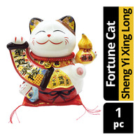 Imported CNY Fortune Cat Decoration - Sheng Yi Xing Long