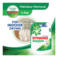DYNAMO Liquid Detergent Indoor Drying Odor Removal Refill 2.4kg