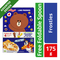 Kellogg's Line Friends Cereal - Frosties + Foldable Spoon