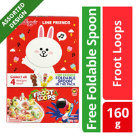 Kellogg's Line Friends Cereal - Froot Loops + Foldable Spoon