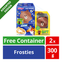 Kellogg's Line Friends Cereal - Frosties + Container