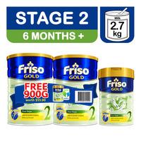 Friso Gold Follow On Milk Formula - Stage 2