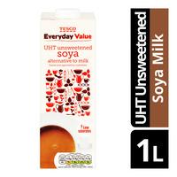 Tesco Everyday Value Soya Milk - UHT Unsweetened