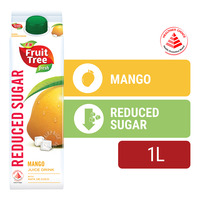 F&N Fruit Tree Fresh Less Sugar & Calories Juice - Mango