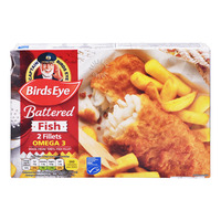 Birds Eye Frozen Battered Fish Fillets