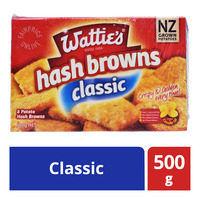 Watties Frozen Hash Browns - Classic