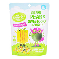Kiwgarden Power Snacks - Green Peas & Sweetcorn Kernels