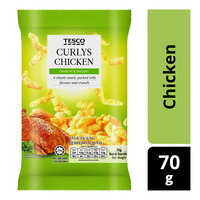 Tesco Curlys Snack - Chicken