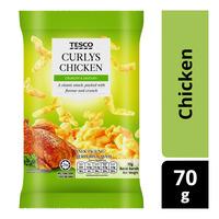 Tesco Curlys Snack - Chicken