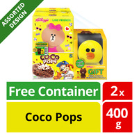 Kellogg's Line Friends Cereal - Coco Pops + Container