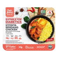 Chef's Finest Low GI Ready Meal - Nyonya Rendang Chicken