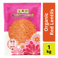 Golden Chef Organic Red Lentils