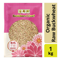 Golden Chef Organic Raw Buckwheat