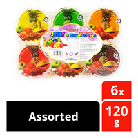 Delwin Fruit Jelly with Nata de Coco - Assorted