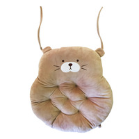 Imported Bear Cushion - Pink