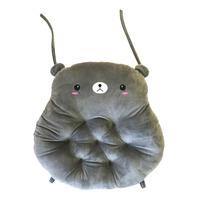 Imported Bear Cushion - Grey