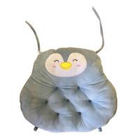 Imported Owl Cushion - Blue