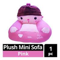 Imported Plush Mini Sofa - Pink