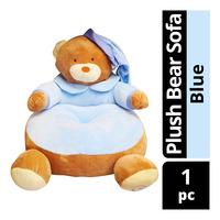 Imported Plush Bear Sofa - Blue