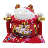 Imported CNY Fortune Cat Decoration - Yi Fan Feng Shun