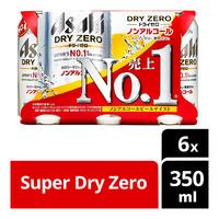 Asahi Can Beer - Super Dry Zero