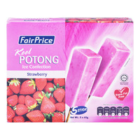 FairPrice Kool Potong Ice Cream - Strawberry