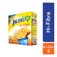 Jacob's Cream Crackers - Hi-Fibre