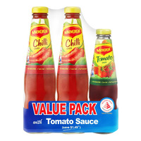 Maggi Chili Sauce with Tomato Sauce