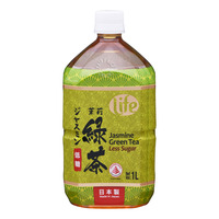 Life Jasmine Green Tea Bottle Drink - Less Sugar