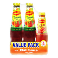 Maggi Tomato Sauce with Chili Sauce
