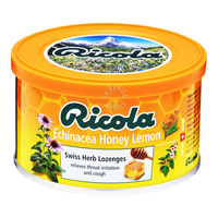 Ricola Swiss Herb Lozenges Candy Tin - Echinacea Honey Lemon