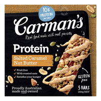 Carman's Gourmet Protein Bars - Salted Caramel Nut Butter