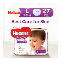 Huggies Platinum Pants - L (9 - 14kg)